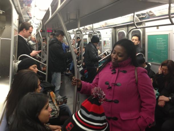 Navigating the subway